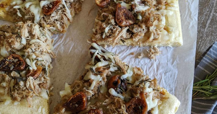 Pork and Fig Pizza