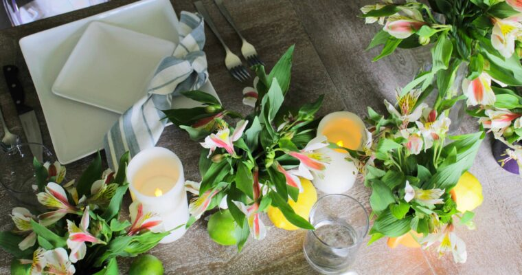 9 Steps to Hosting an Intimate {at home} Birthday Dinner
