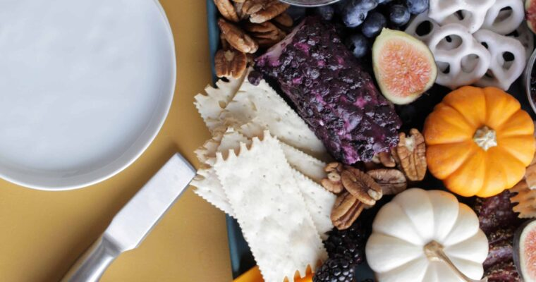 Effortlessly Elegant Fall Charcuterie Board (printable shopping list included!)