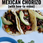 The Best Way to Cook Mexican Chorizo {with how-to video}
