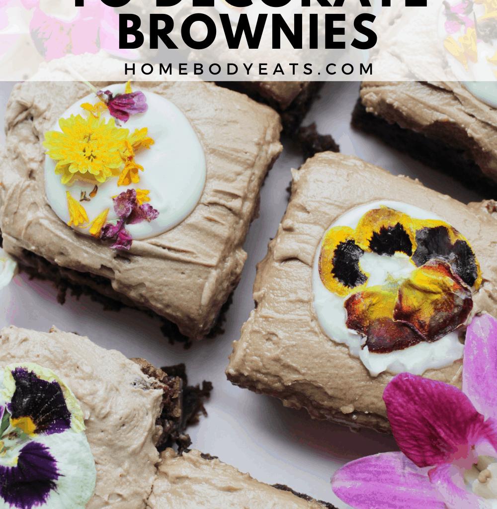 Creative Ways to Decorate Brownies