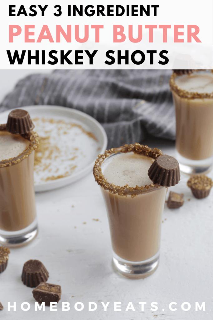 peanut butter whiskey shots