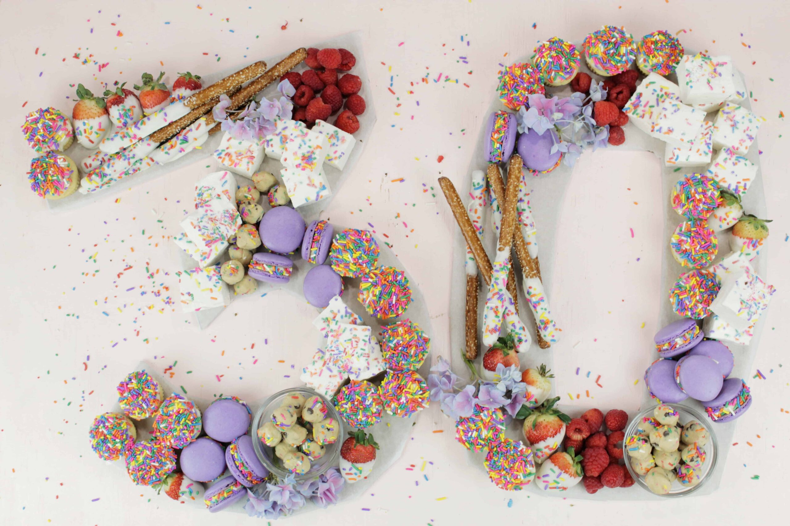 Birthday Charcuterie Board   Personalized Birthday Dessert Idea