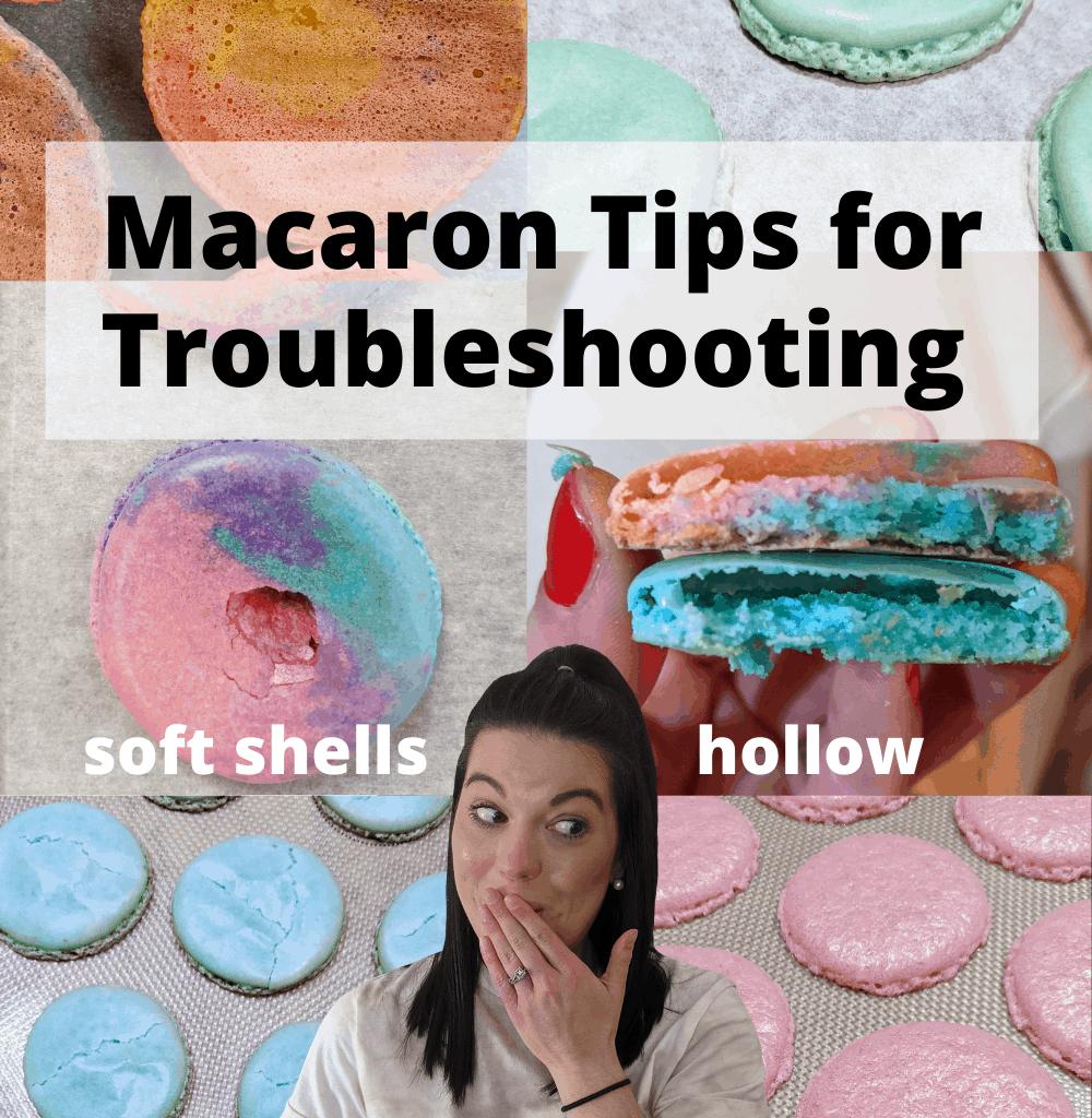 macarons troubleshooting tricks