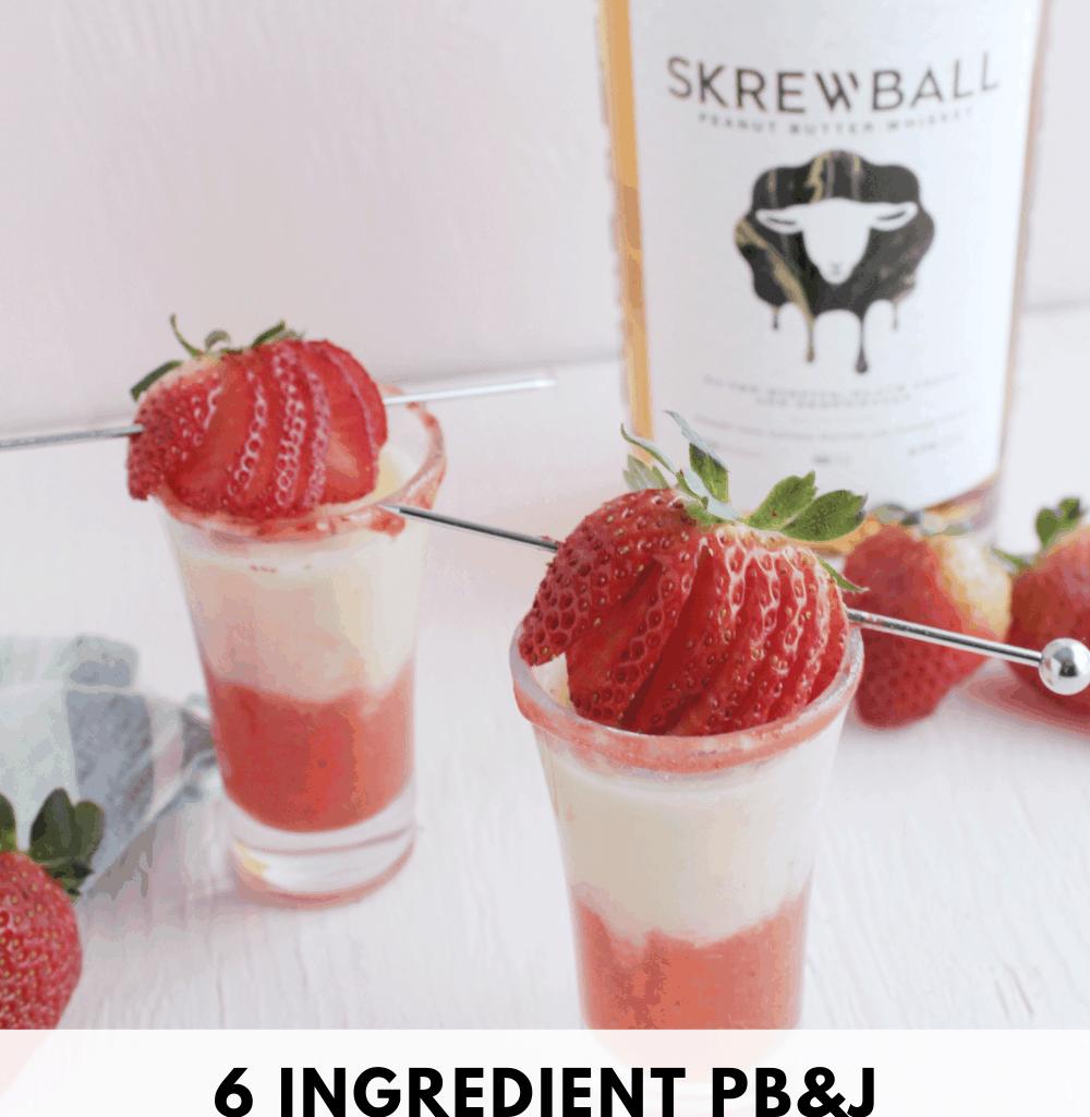 skrewball peanut butter whiskey drinks