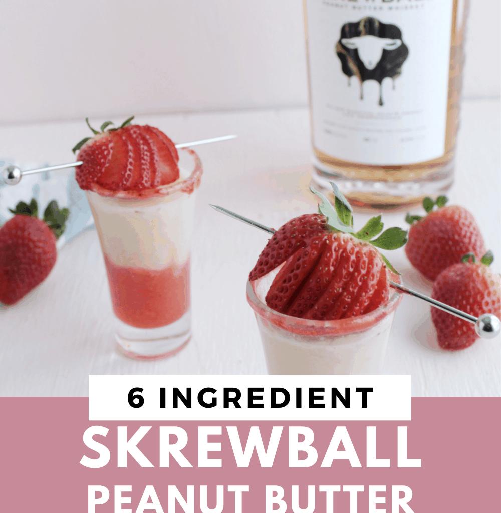 skrewball peanut butter whiskey recipes