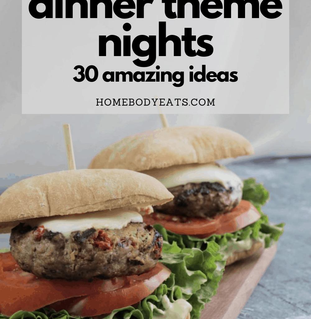 weekly dinner theme nights