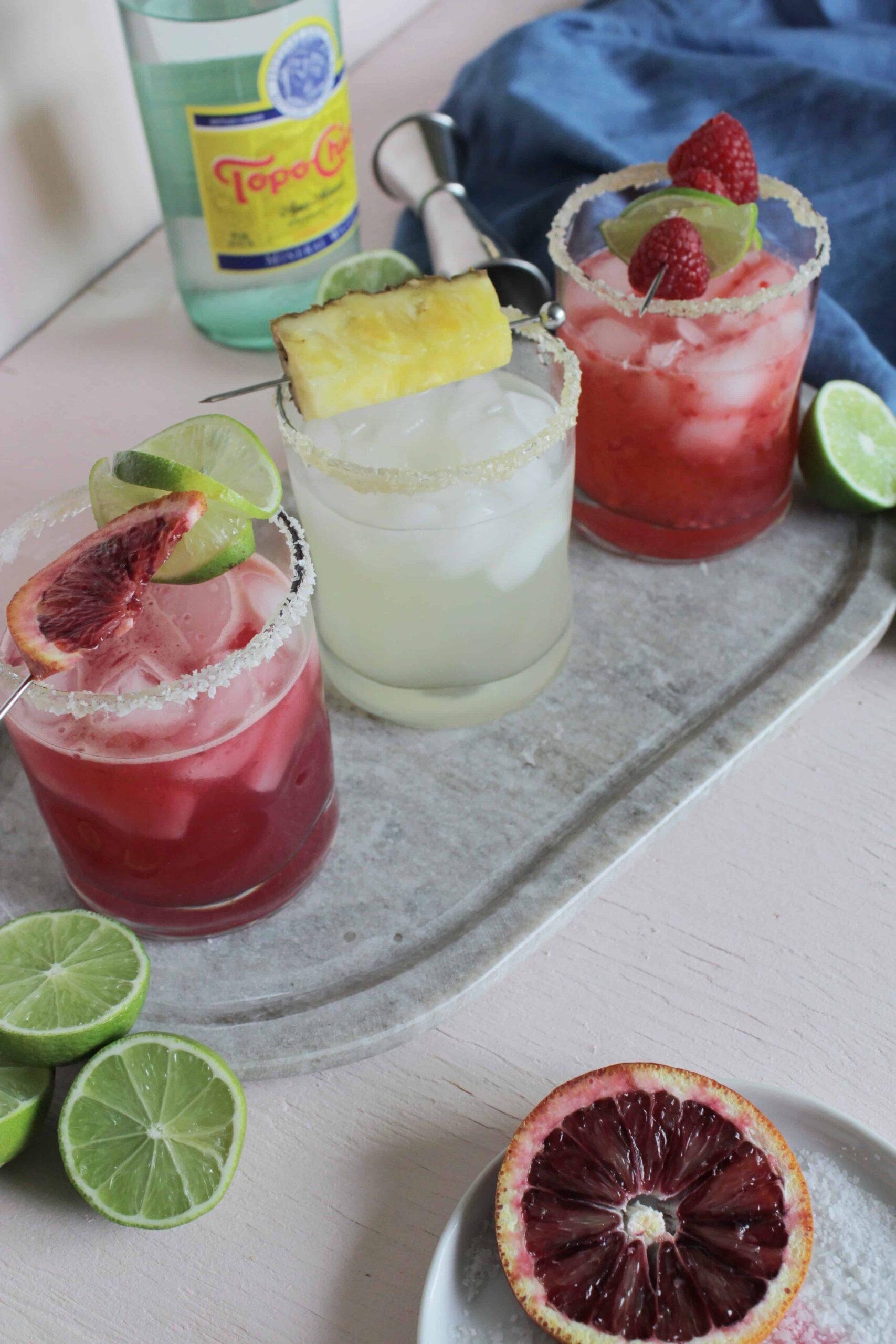 At Home Margarita Flight (in 15 Minutes)