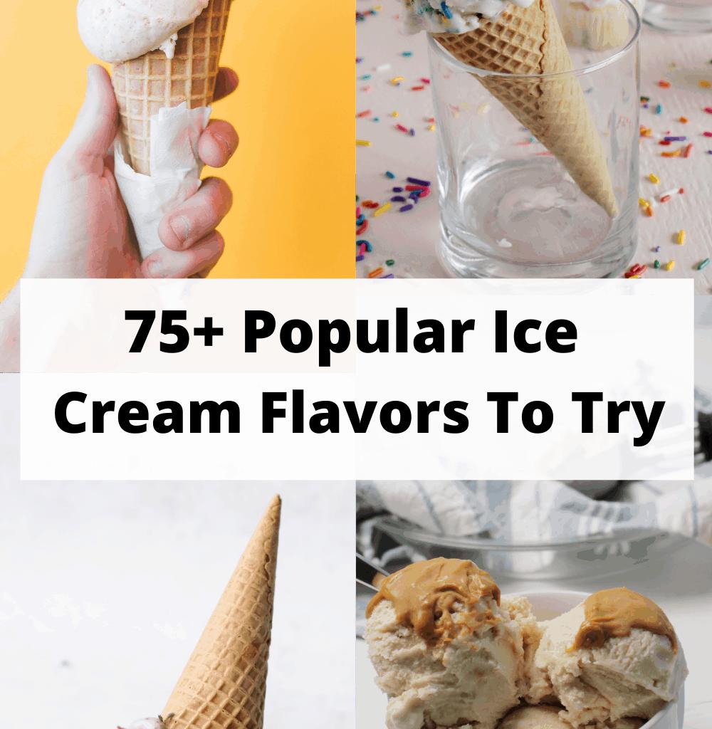 popular ice cream flavors to try