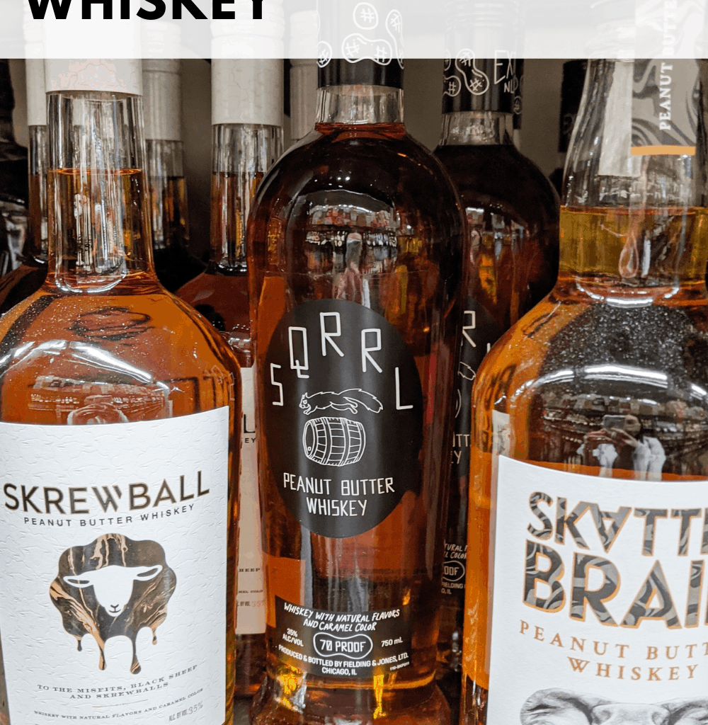 what to mix with peanut butter whiskey