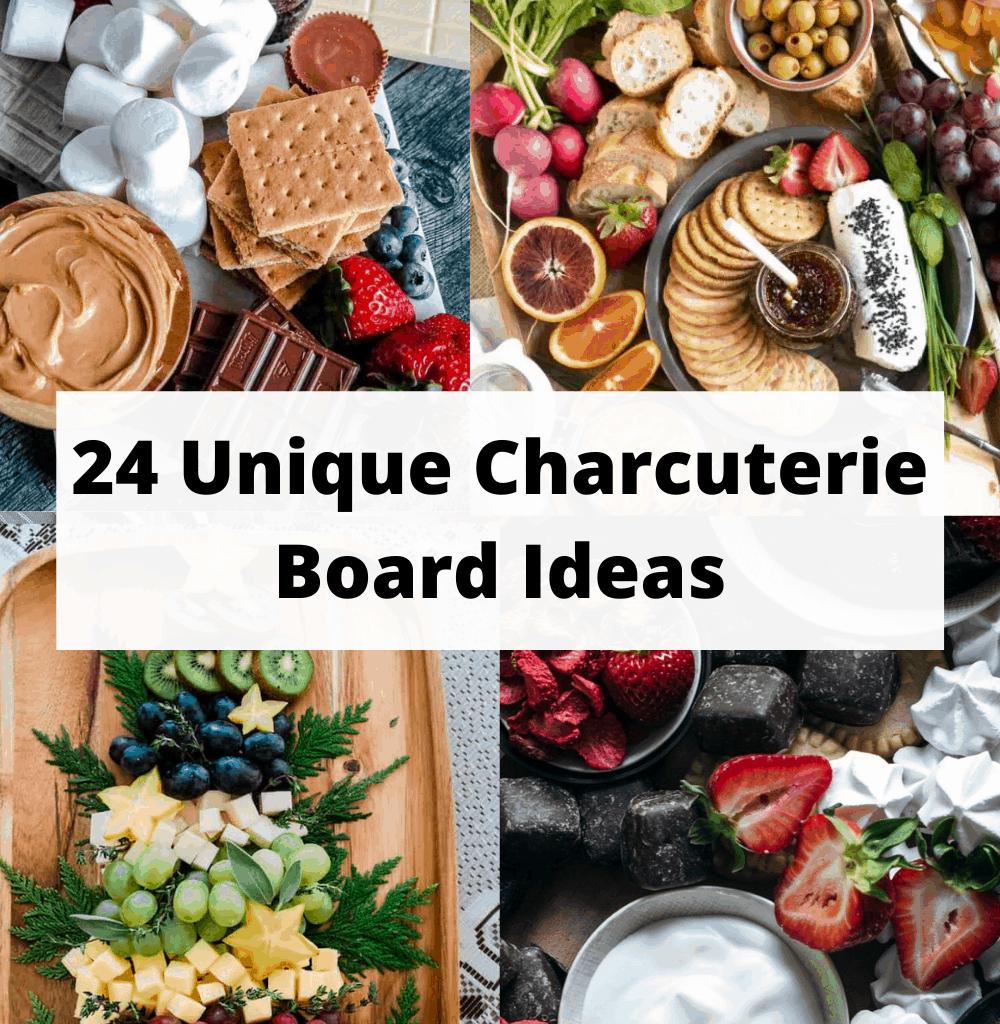 unique charcuterie board ideas